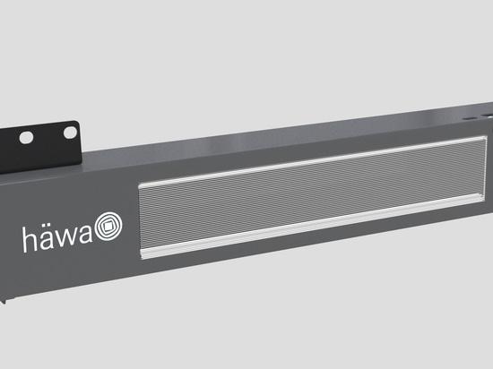 Les lampes LED contrôlées par capteur pour armoires de commande |häwa