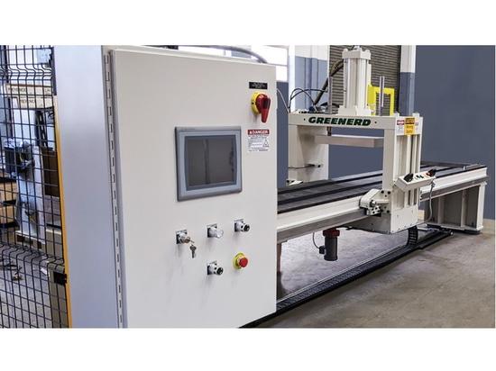 Greenerd propose des presses hydrauliques clés en main
