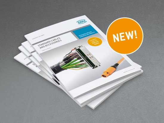 Nouveau catalogue : câbles standard et accessoires
