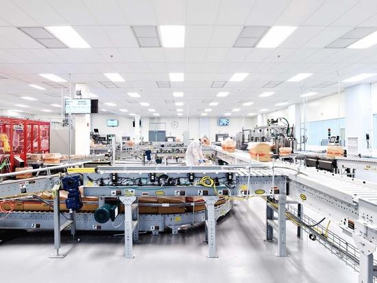 L'usine Edesia à Rhode Island