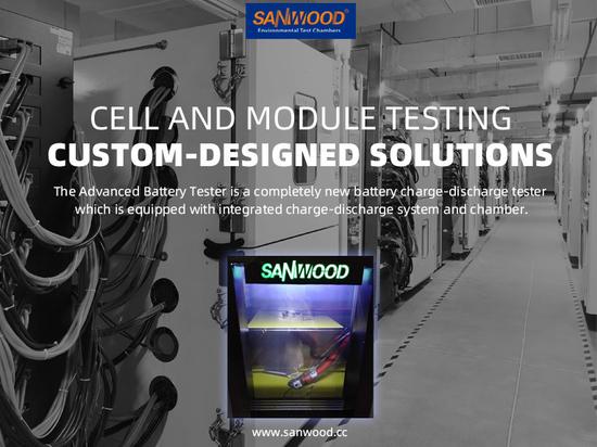 Solutions sur mesure pour les tests de cellules et de modules