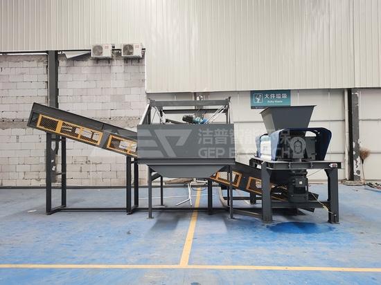 Broyeur de déchets municipaux volumineux et solides de China Zhejiang