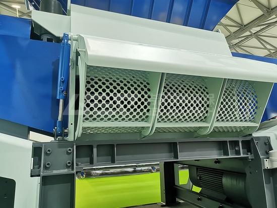 Broyeur finisseur à double arbre de la série GSD à super capacité de production