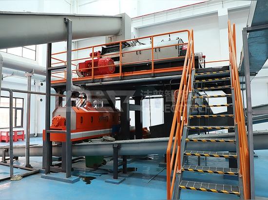 Concasseur de 80 tonnes/jour pour l'élimination des déchets alimentaires Malaisie