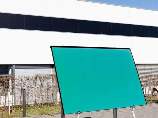True Colours : Des panneaux solaires pour embellir l'extérieur des bâtiments