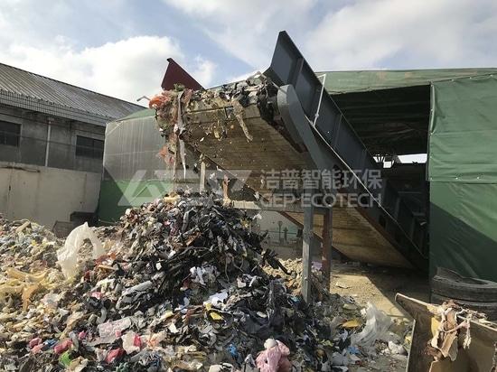 Recyclage des déchets ménagers, le système de broyage GEP ECOTECH à votre service