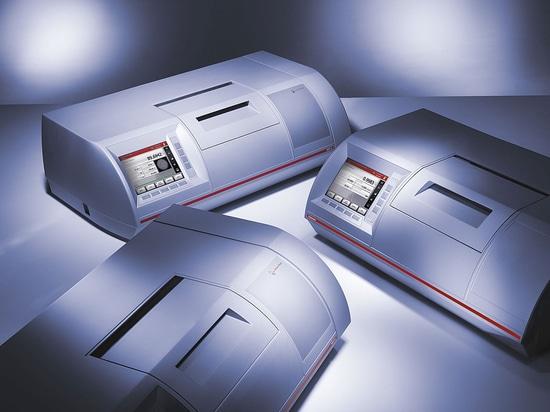 Polarimètres d'Anton Paar : La nouvelle source lumineuse de LED et le compresseur pour des cellules de prélèvement maximisent la vie et la facilité d'utilisation.
