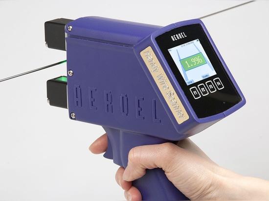 HWS.1: le premier micromètre optique portable pour la mesure sans contact des fils et des câbles!