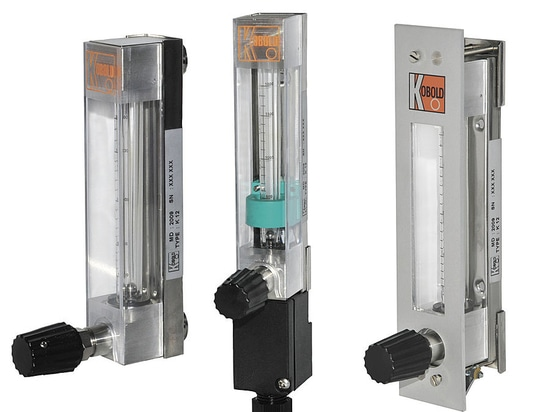 KDF-KDG: débitmètre à flotteur avec vanne de réglage