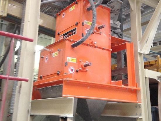 Les tambours magnétiques terres rares ERIEZ utilisés pour atteindre le plus haut degré de pureté