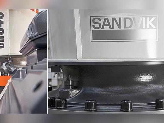 Étape de constructions de Sandvik prochaine dans la nouvelle génération des broyeurs de cône
