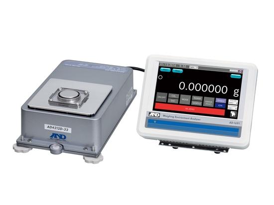 Présentant une microbalance intégrée qui est également appropriée pour l'usage dans une boîte à gants