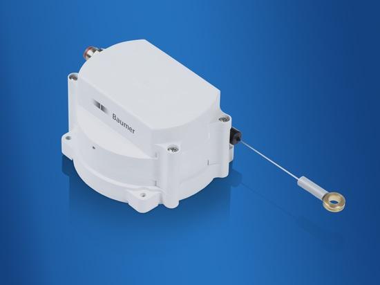 Capteurs de déplacement à câble robustes – les mesures de trajectoire faciles à réaliser
