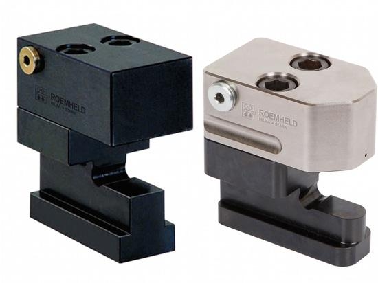 ROEMHELD : «compact» glissant la bride pour les espaces serrés dans les machines, les systèmes et des presses