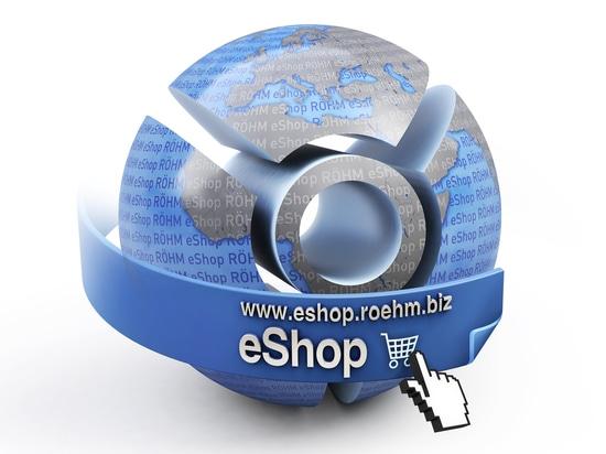 L'eShop de RÖHM - achetez simplement le fixage et la technologie passionnante des spécialistes en ligne