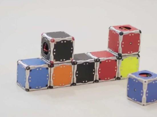 LE MONDE ? S D'ABORD MODULAIRE, ROBOTS DE SELF-ASSEMBLING
