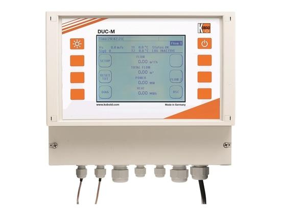 DUC: tout nouveau débitmètre à ultrason fixe ou portable