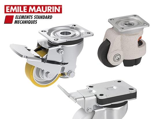 Roulettes d'immobilisation Emile Maurin