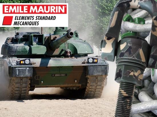 Emile Maurin à la foire 2018 d'Eurosatory