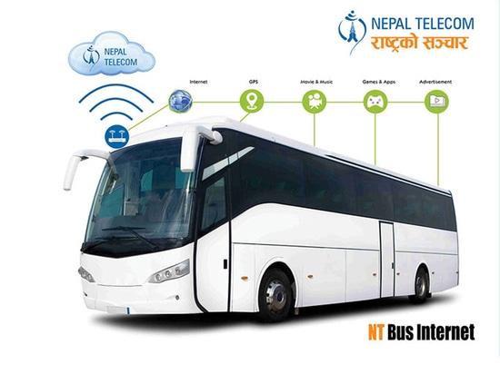 Associés de Hongdian avec le Népal Telecome pour établir le système de Wi-Fi de bus touristique du Népal
