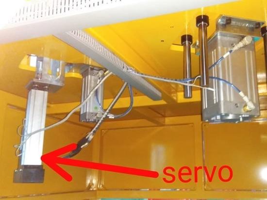 remplacement de cylindre pneumatique par le cylindre servo électrique
