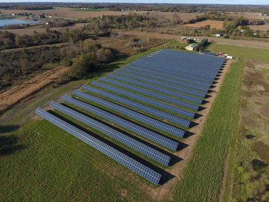 Succès solaire d'installation au Michigan
