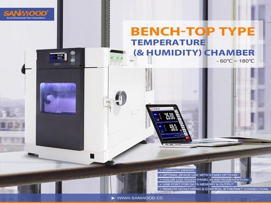 Type au dessus du banc chambre de la température (et humidité)