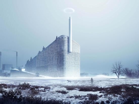 B&W remet des déchets de Copenhill à l'installation d'énergie et de ski à Copenhague
