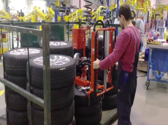Positionneur roues - pneus