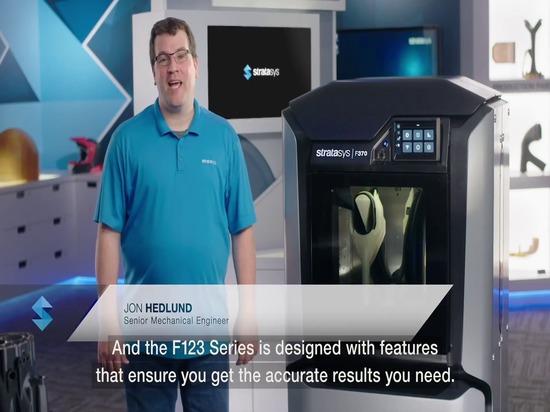 F123 Impression de bureau ou industrielle de niveau 3d - Précision