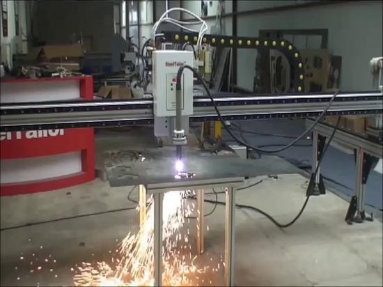 Machine à découper CNC SteelTailor DRAGON II à portique portable