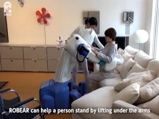 ROBEAR : Le robot fort au toucher doux