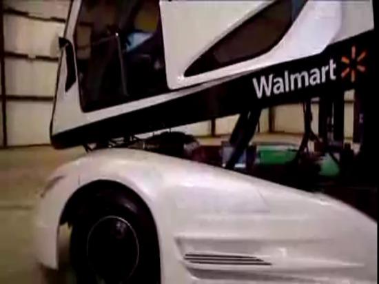 La présentation de Walmart a avancé le camion de concept d'expérience de véhicule