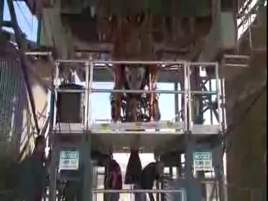 L'origine bleue Test-Fires le nouveau moteur BE-3