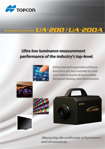2D Luminance Colorimeter UA-200A