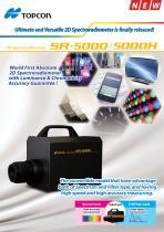2D Spectroradiometer SR-5000H/SR-5000