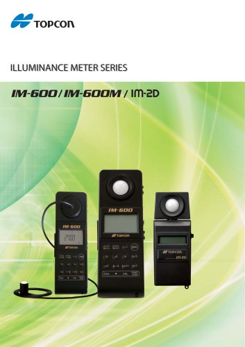 Digital Illuminance Meter IM-2D