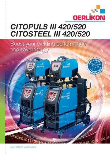 CITOPULS III 420/520 CITOSTEEL III 420/520
