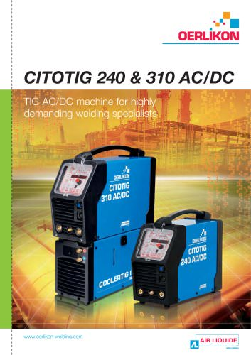 CITOTIG 240 & 310 AC/DC