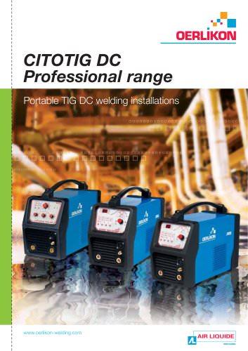 CITOTIG DC Professional range