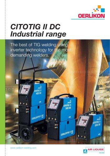 CITOTIG II DC Industrial range
