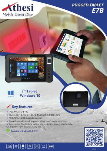 E7B Rugged Tablet