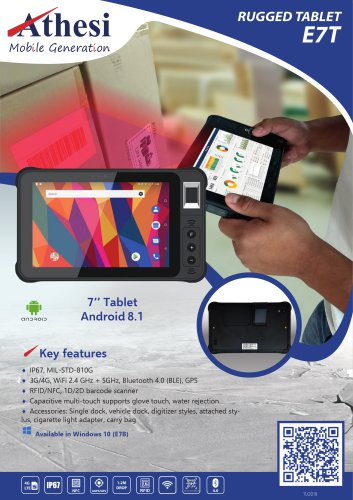 E7T Rugged Tablet