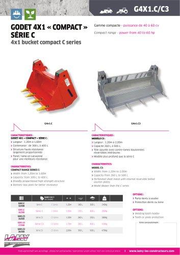 """Godet 4 en 1 """"Compact"""" Série C"""