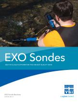 EXO Sondes BEST-IN-CLASS PLATFORM FOR THE HIGHEST-QUALITY DATA