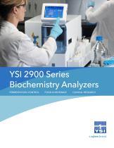 YSI 2950 Biochemistry Analyzer