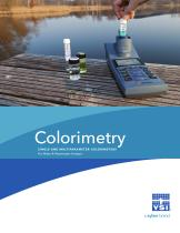 YSI Colorimeter Catalog