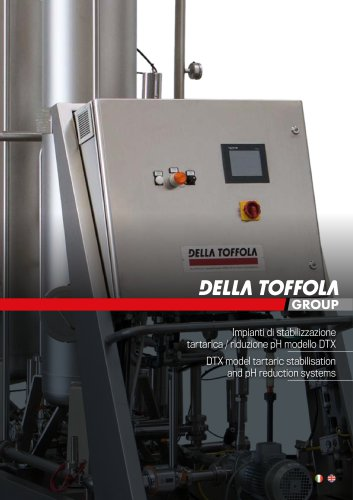 DTX model tartaric stabilisation and pH reduction systems