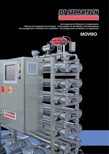 Technologies pour la filtration et la séparation MOVIRO