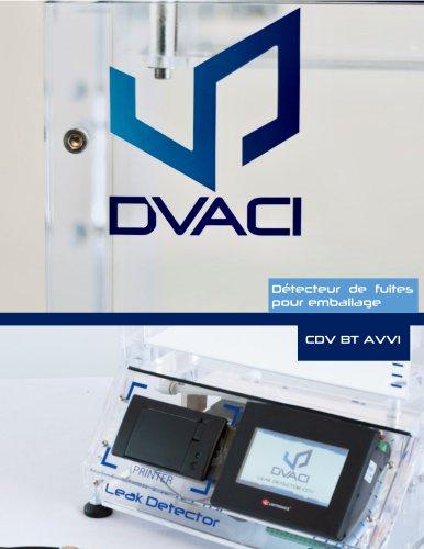 CDV BT AVVI Testeur de Fuites pour Emballages